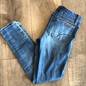 Girls Joe's Distressed Skinny Jeans (Size 10)
